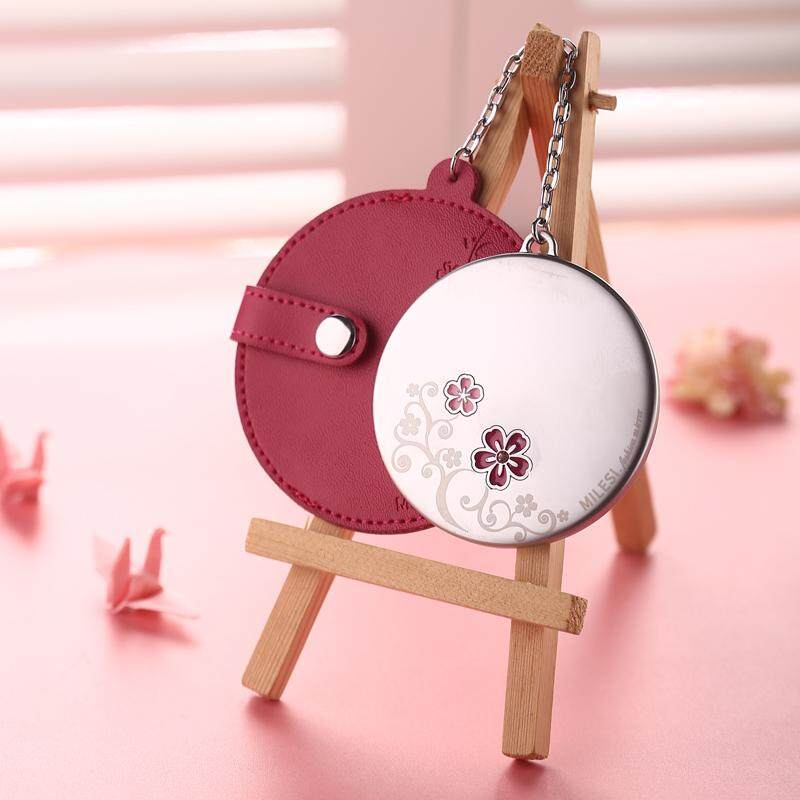 Cute women round mini jing Cosmetic Mirror Philippines