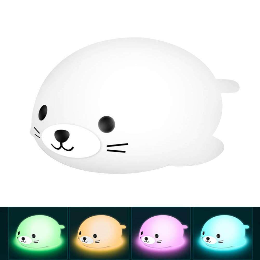 Seal Silicone Night Light Light
