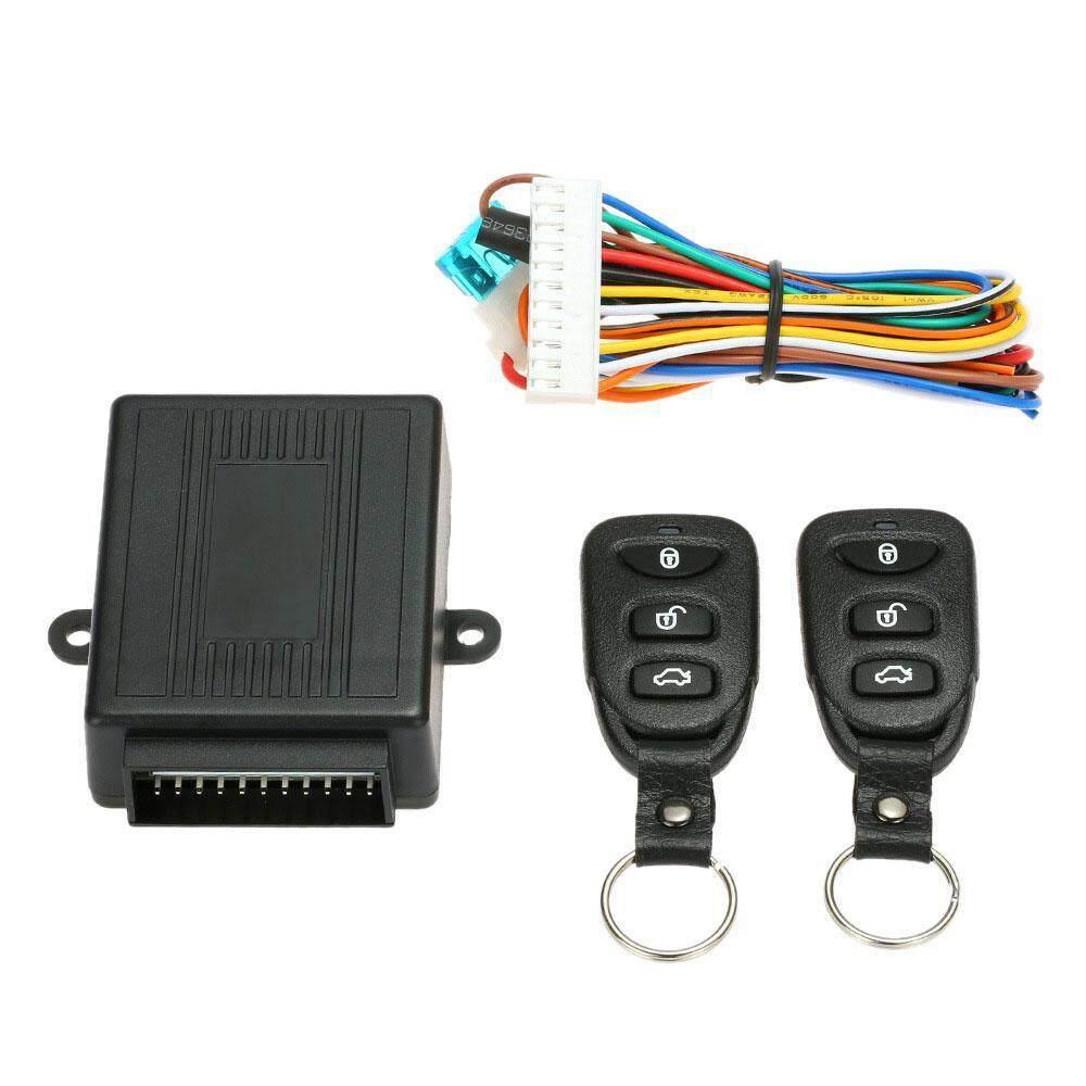 Niceeshop Jarak Jauh Pengendali Mobil Universal Mobil Unlock Mengunci Kunci Pintu Kunci Tengah dan Elektrik Udara Jendela Tanpa Kunci Masuk Sistem- internasional