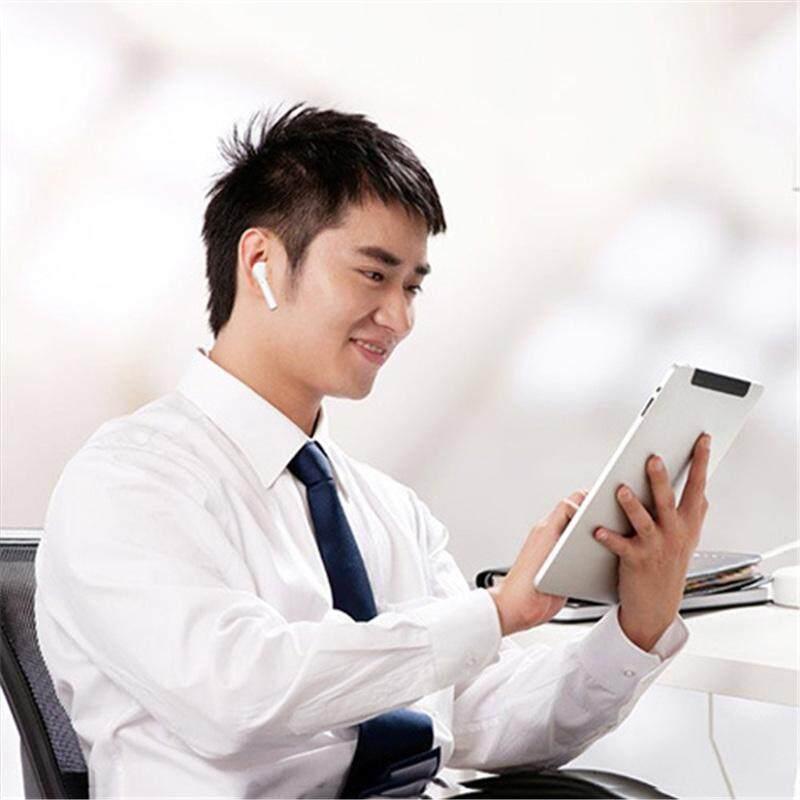 Tws I7 Bluetooth Mini V4.1 Headphone Earphone Stereo Olahraga Tunas Nirkabel Satu Earbud Headset Bebas Tangan untuk iPhone X Smartphone - 5