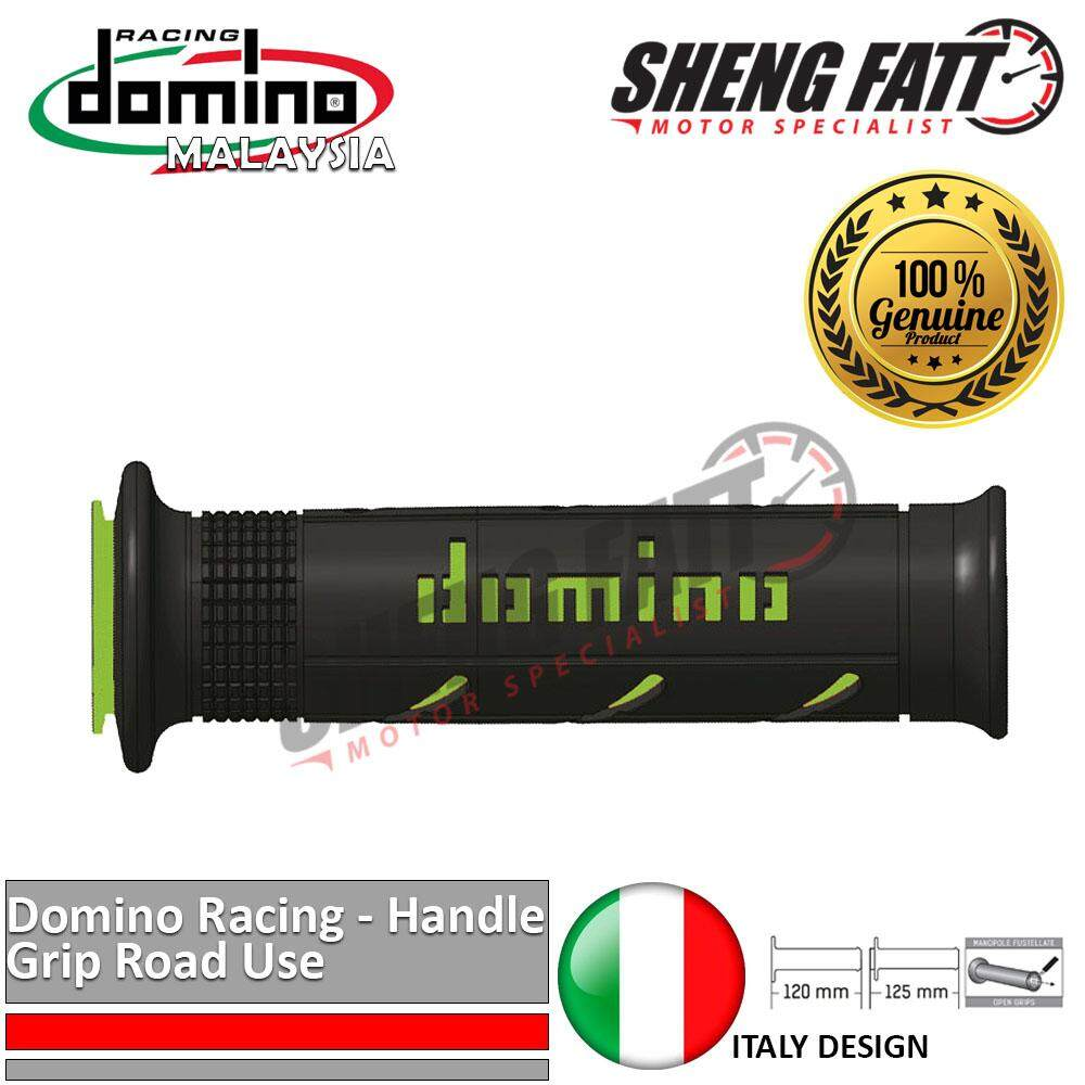 "Domino Universal Handle Bar 7/8"" Motorcycle XM2 Double SuperSoft Throttle Grips MotoGP handlebar Green [ORIGINAL]"