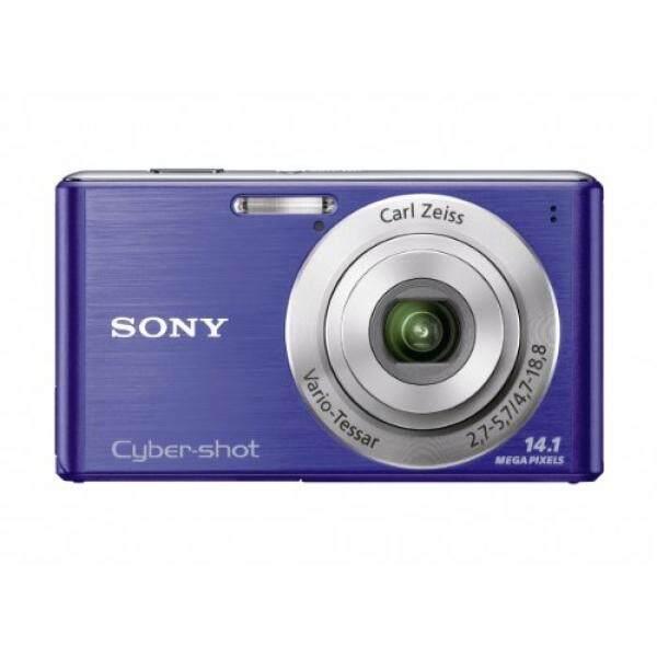 Sony Cyber-shot DSC-W530 14.1 MP Kamera Diam Digital dengan Carl Zeiss Vario-Tessar 4X Wide-Angle optik Lensa Variabel dan 2.7-Inch LCD (Biru) -Intl