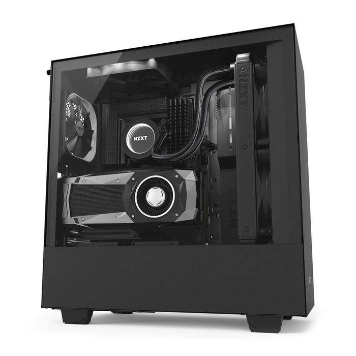 NZXT H500I Mid Tower ATX Case Black Malaysia