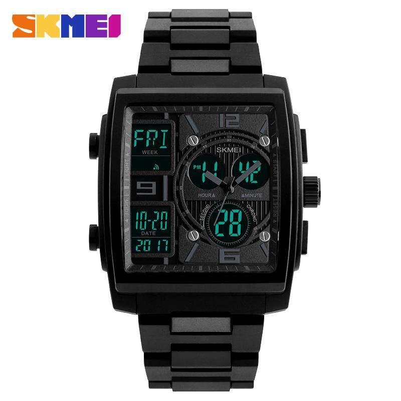 69b682a7bb7 SKMEI Men Sport Watch Clock Electronic Dual Time Waterproof Watches Chrono  Countdown Digital Wristwatch Relogio Masculino