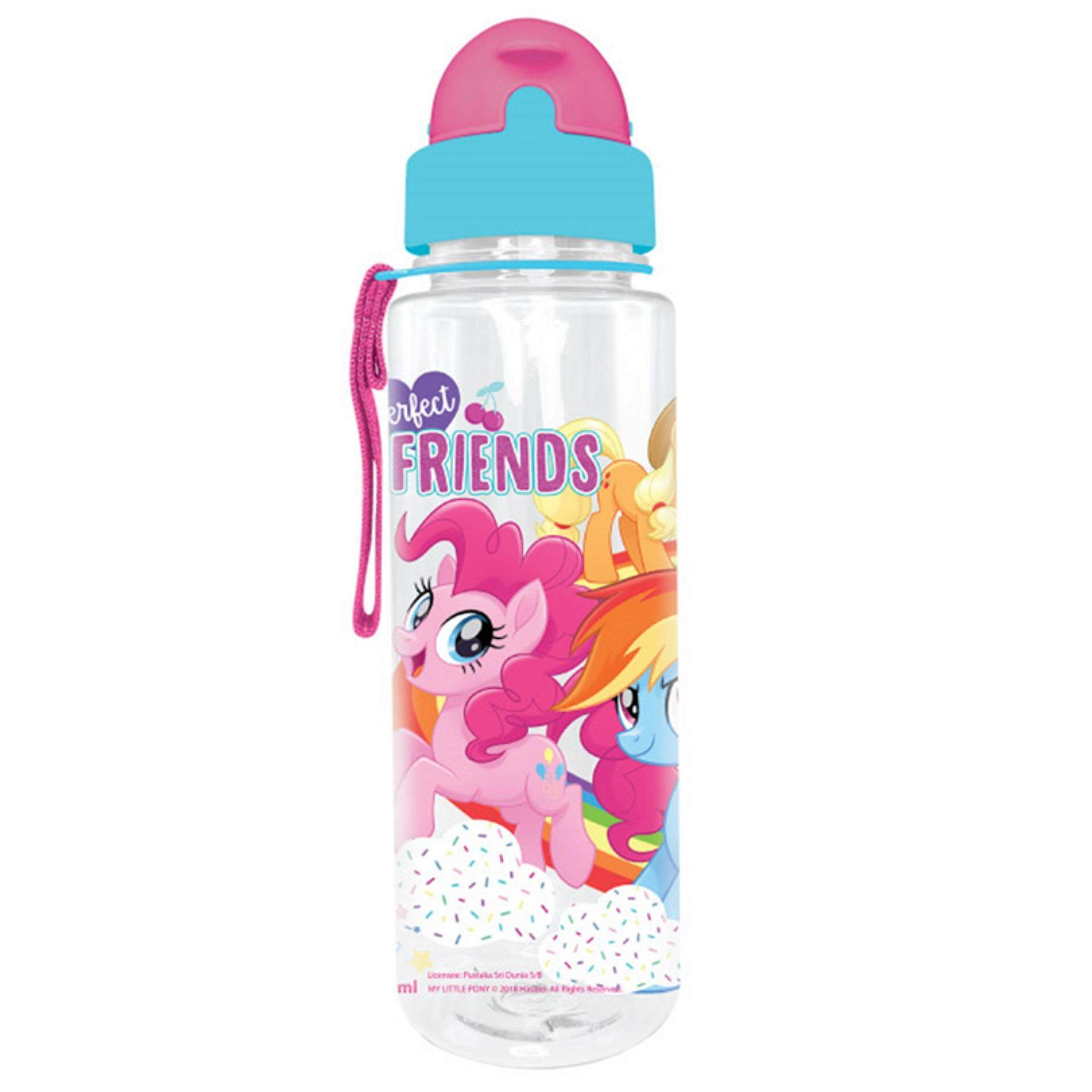 My Little Pony 650ML Tritan Bottle With Straw - Light Blue Colour
