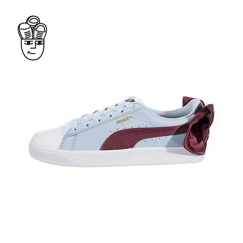 Puma Basket Bow New School Lifestyle Shoes Women 36773302 SH