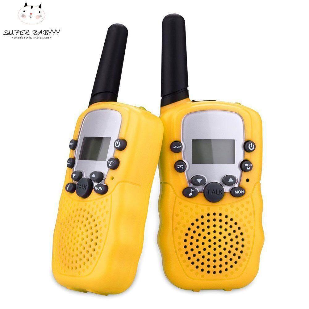 Hình ảnh SBY 2 Pcs/Set Children Toys 22 Channel Walkie Talkies Two Way Radio UHF Long Range Handheld Transceiver Kids Gift