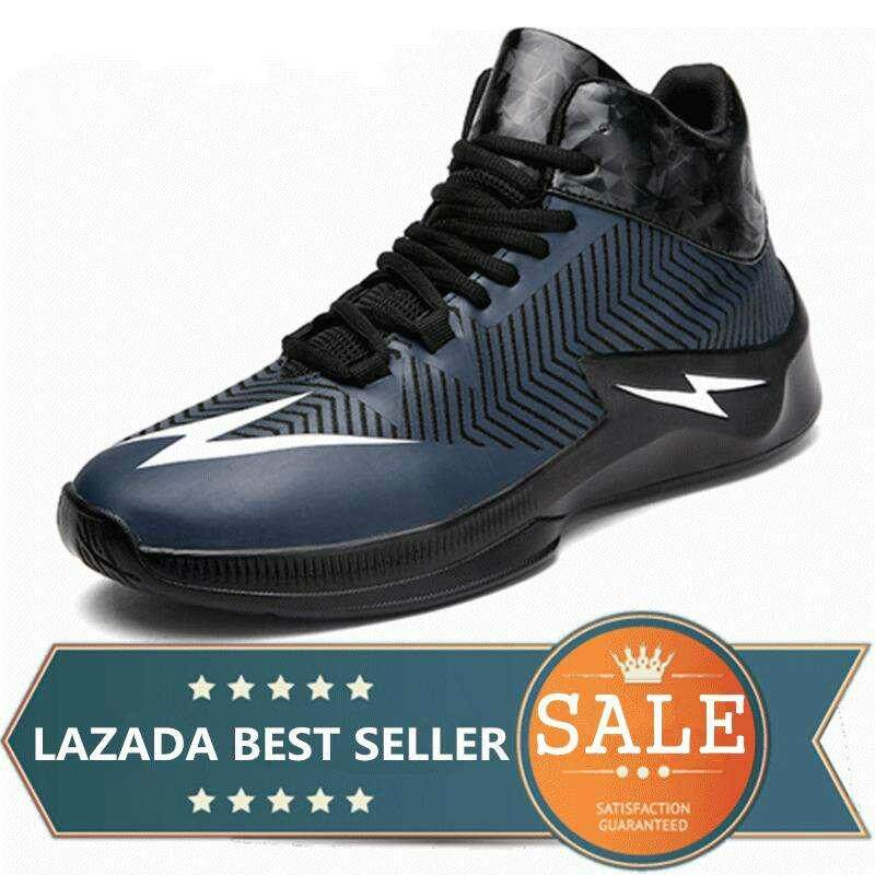 ff9a8b7596f Men Basketball Shoes For Outdoor Sneakers Sport Shoes (Dark blue)