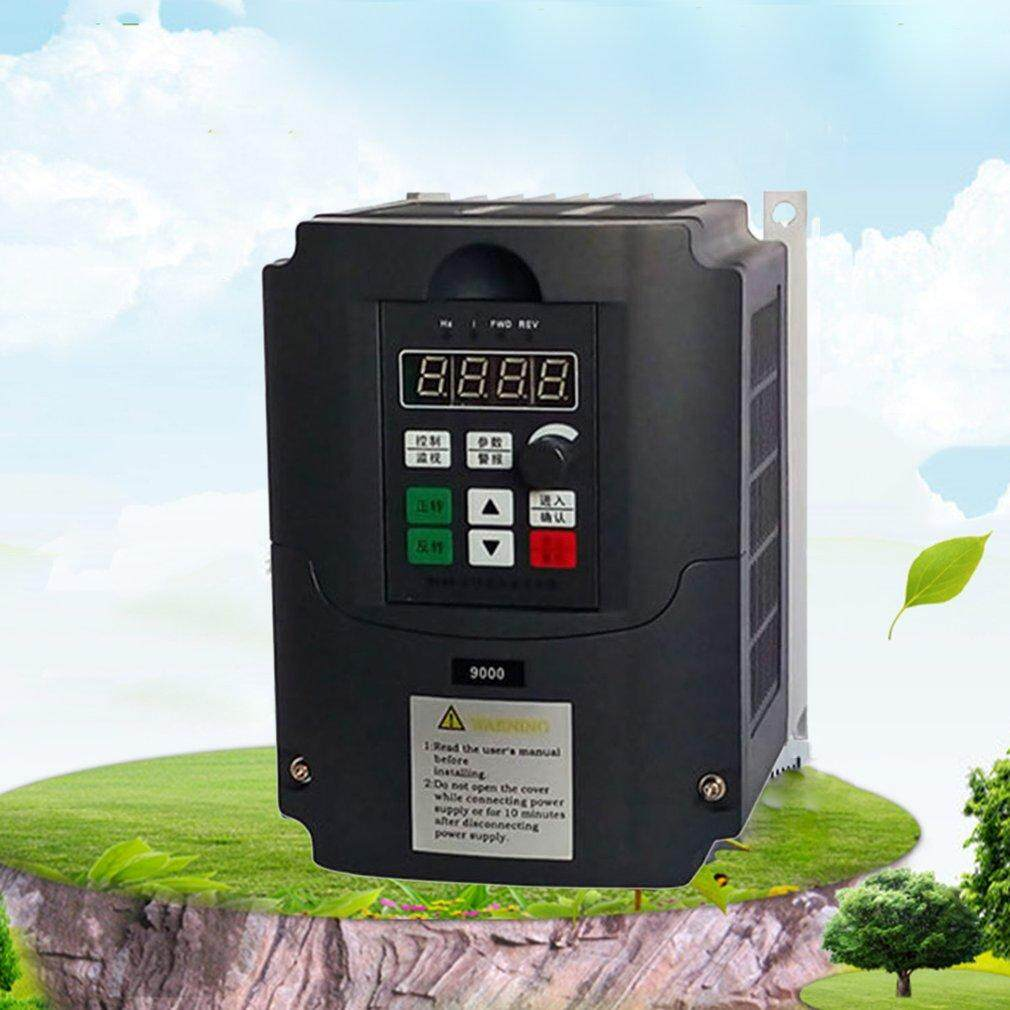BELLE 380V 1.5KW VFD Frequency Inverter Vector Control 3 Phase Frequency Converter black