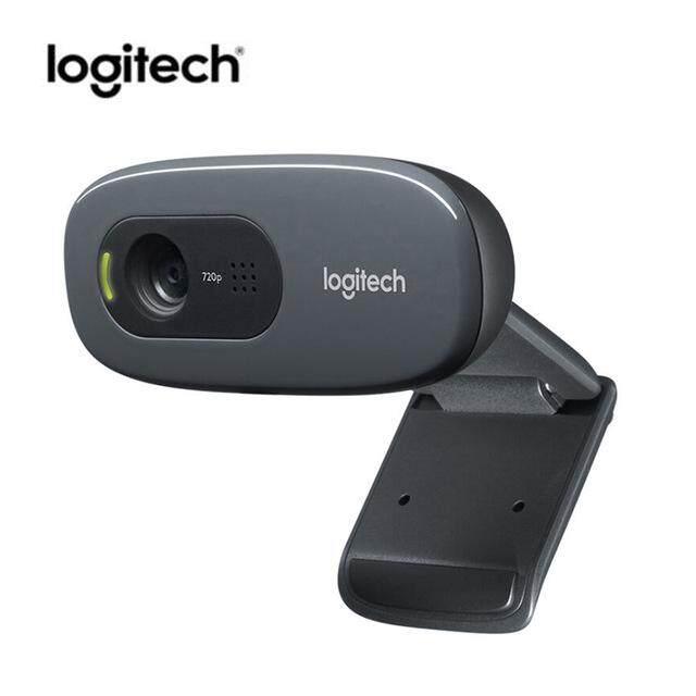 Logitech C270 Mini Computer Webcam 720P Camera USB Webcam 3 Mega HD Video Web Camera