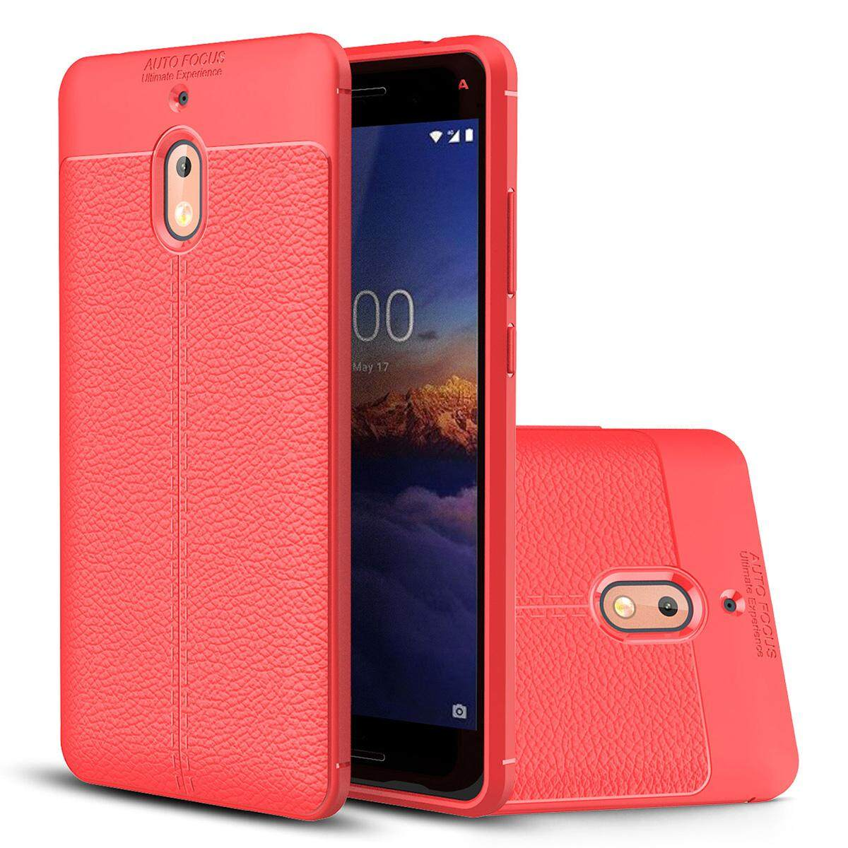 Hicase for Nokia 2.1 Premium PU Ultra Thin Full Protection Anti-Scratch Case Cover