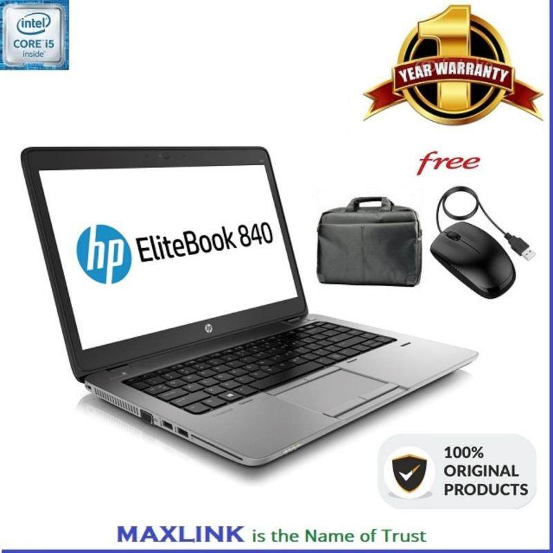 HP ELITEBOOK 840 G1 Ultra Book (Core i5Vpro 4GB / HDD 500Gb  (WARRANTY 1 YEAR) Malaysia