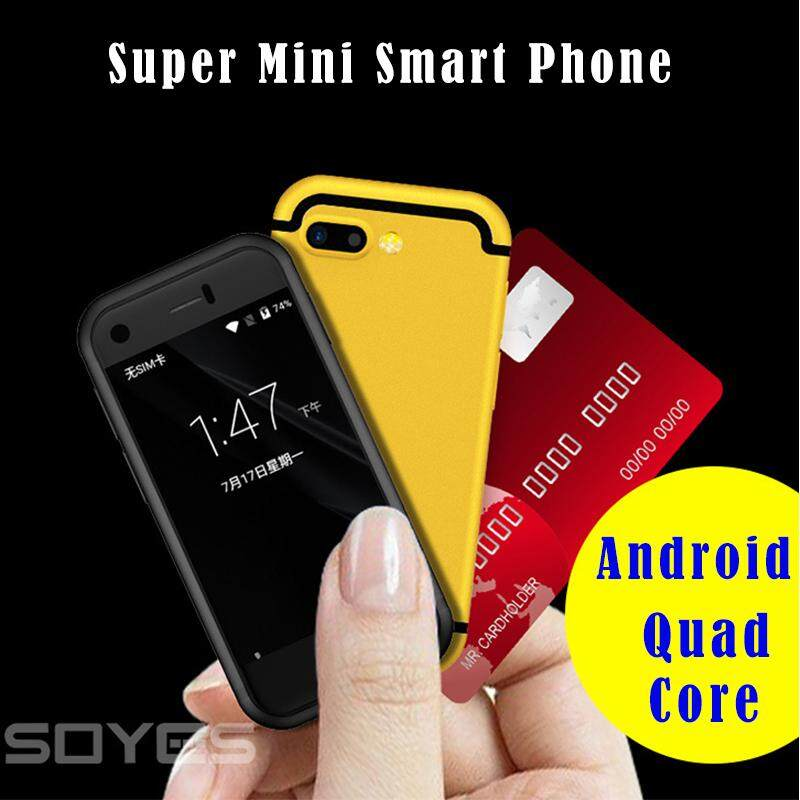 SOYES Ponsel Pintar 2,54 inci 7 S 2G MTK6580 Quad Core 1,3 GHz 1 GB Ram 8 GB ROM Android 6.0, Ponsel Kamera Ganda 5 MP