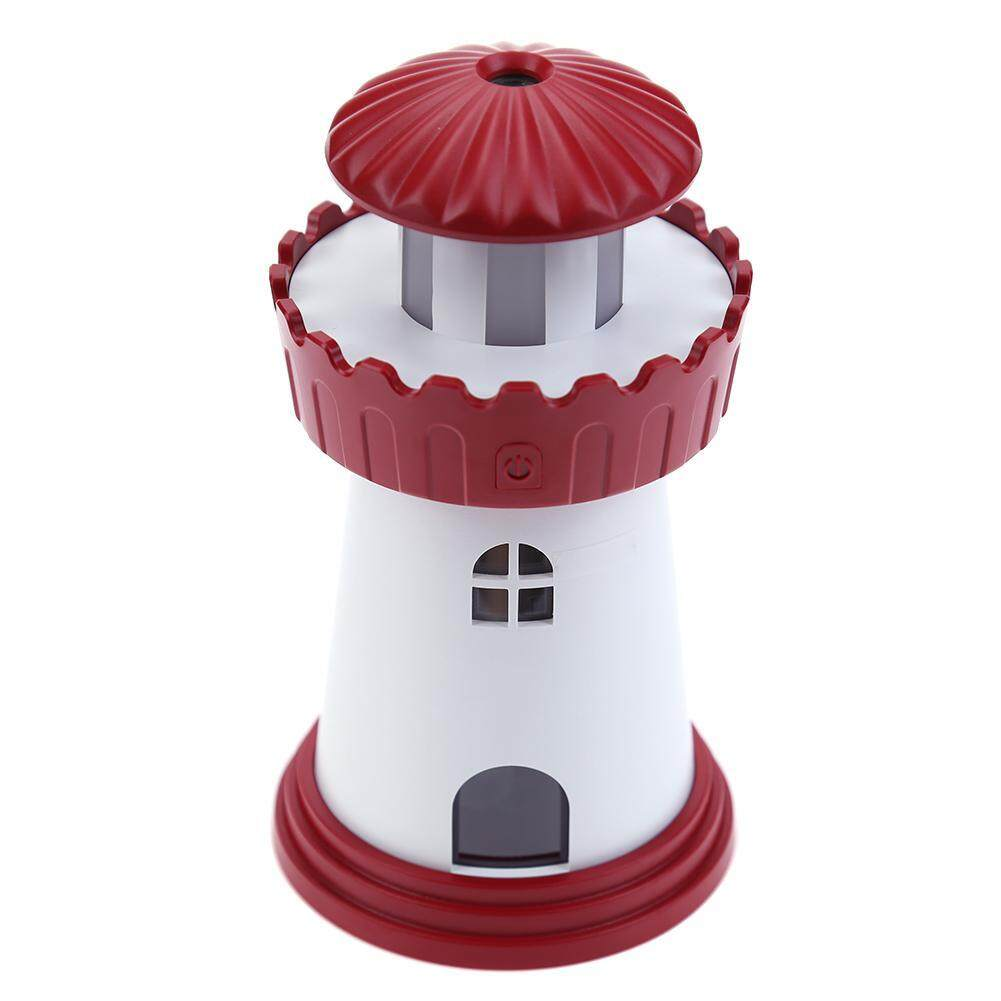 Bảng giá Lighthouse Shaped Mini USB Ultrasonic Home Office Desk Air Purifier Humidifier - intl