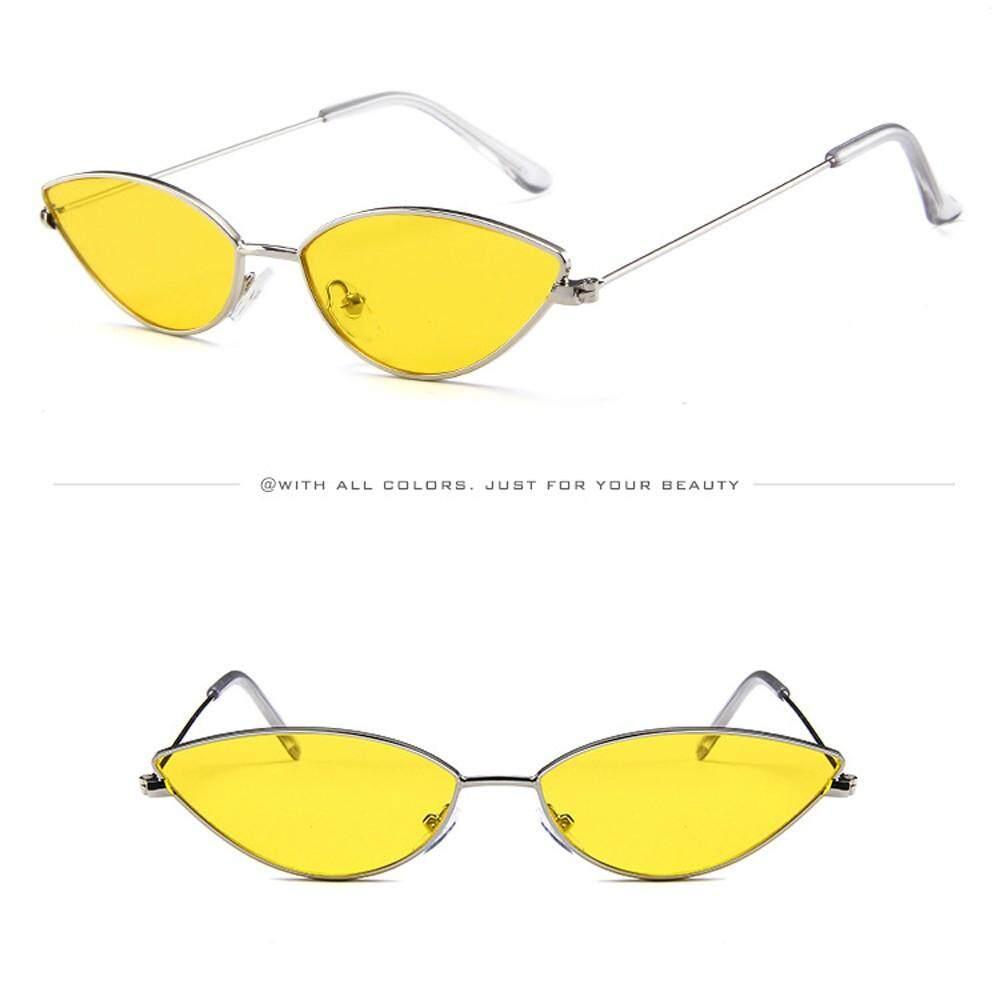 c18faa68fe Ackeryshop Mens Womens Small Frame Cat Eye Oval Retro Vintage Sunglasses  Eyeglasses