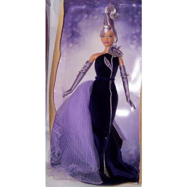 Bob Mackie Avon The Sterling Silver Rose Barbie Collectibles Doll - intl
