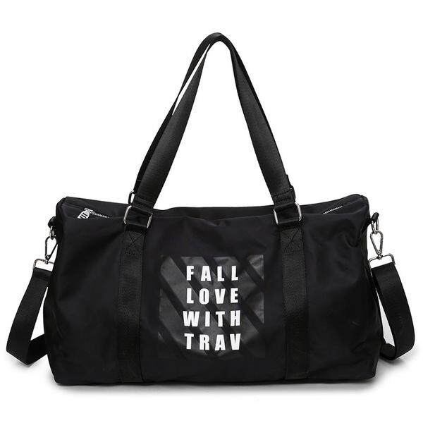 KX 2018 New Waterproof Oxford Travel Bag Shoulder Diagonal Portable Fitness  Bag Yoga Bag Boarding bag fdfac67e27