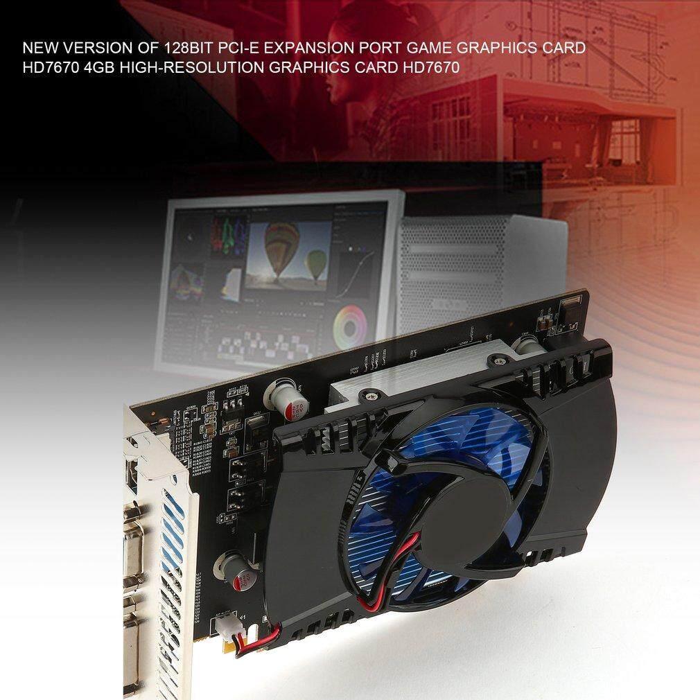 Baik Game Video Kartu Grafis untuk HD7670 4G/128bit GDDR5 480 Stream Processor-Intl