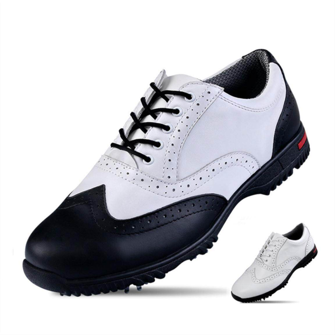 2018 Golf Shoes Mens Sports Nails Shoes Waterproof Antiskid Shoes. By Aukey Mall