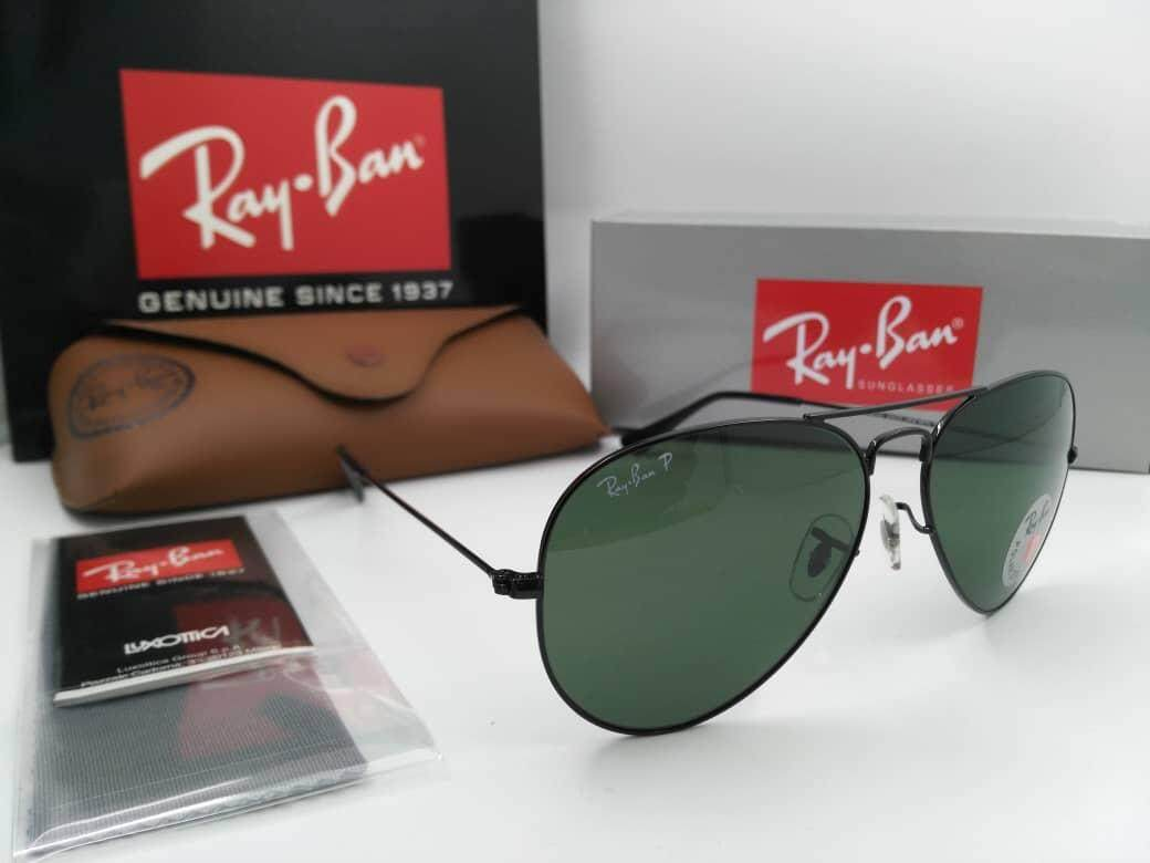 (Ray.Ban) Aviator Polarized Sunglasses (Big Promotion)