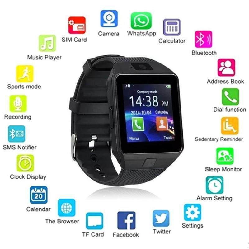 Bluetooth Smart Watch Smartwatch DZ09 Android Phone Call Relogio 2G GSM SIM TF Card Camera for ...