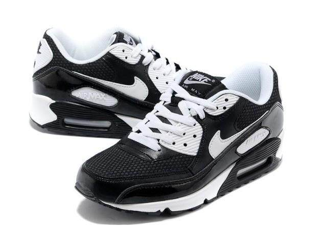 new arrival 1396f cdf11 ... new style nike air max 90 breathable sneakers mens womens running shoe  white black 0e7af 279f0