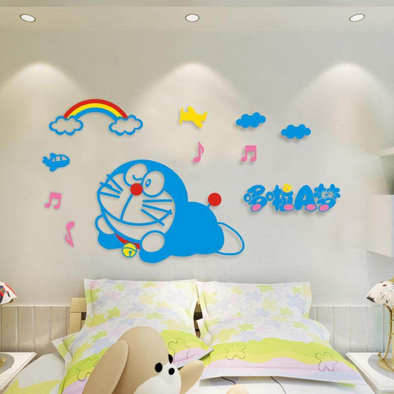 3D Doraemon Wall Decoration(220 x 123cm)(Sleeping)