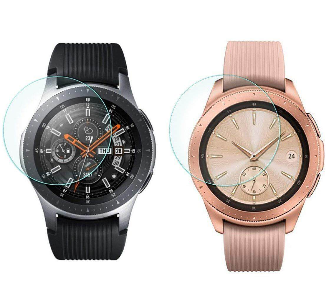 5a912172a0be 3pcs 2.5D Tempered Glass Film Screen Protector for Samsung Galaxy Watch  42mm 46mm
