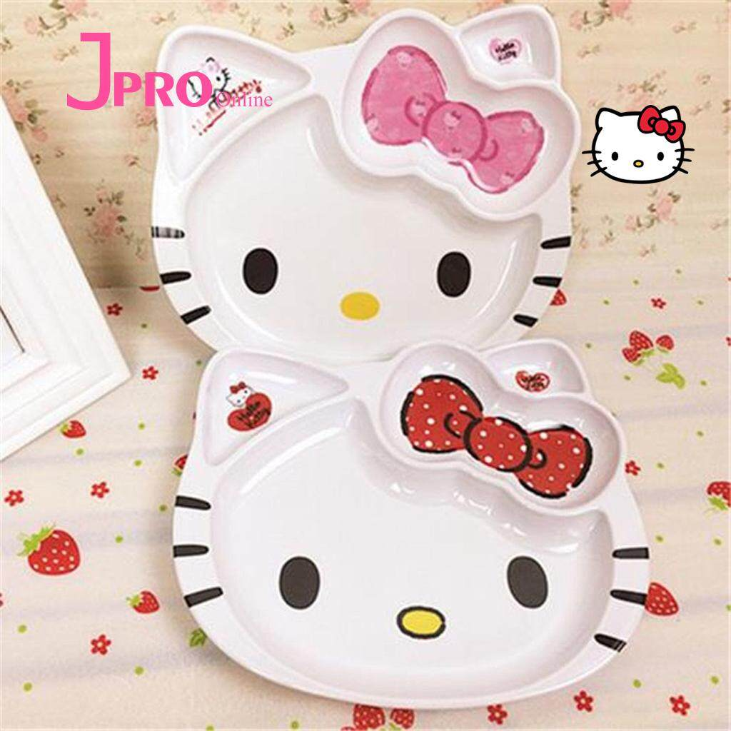 8582047be Cute 1Pcs Hello Kitty KT Cat Cartoon Exquisite Safety Dinner ...