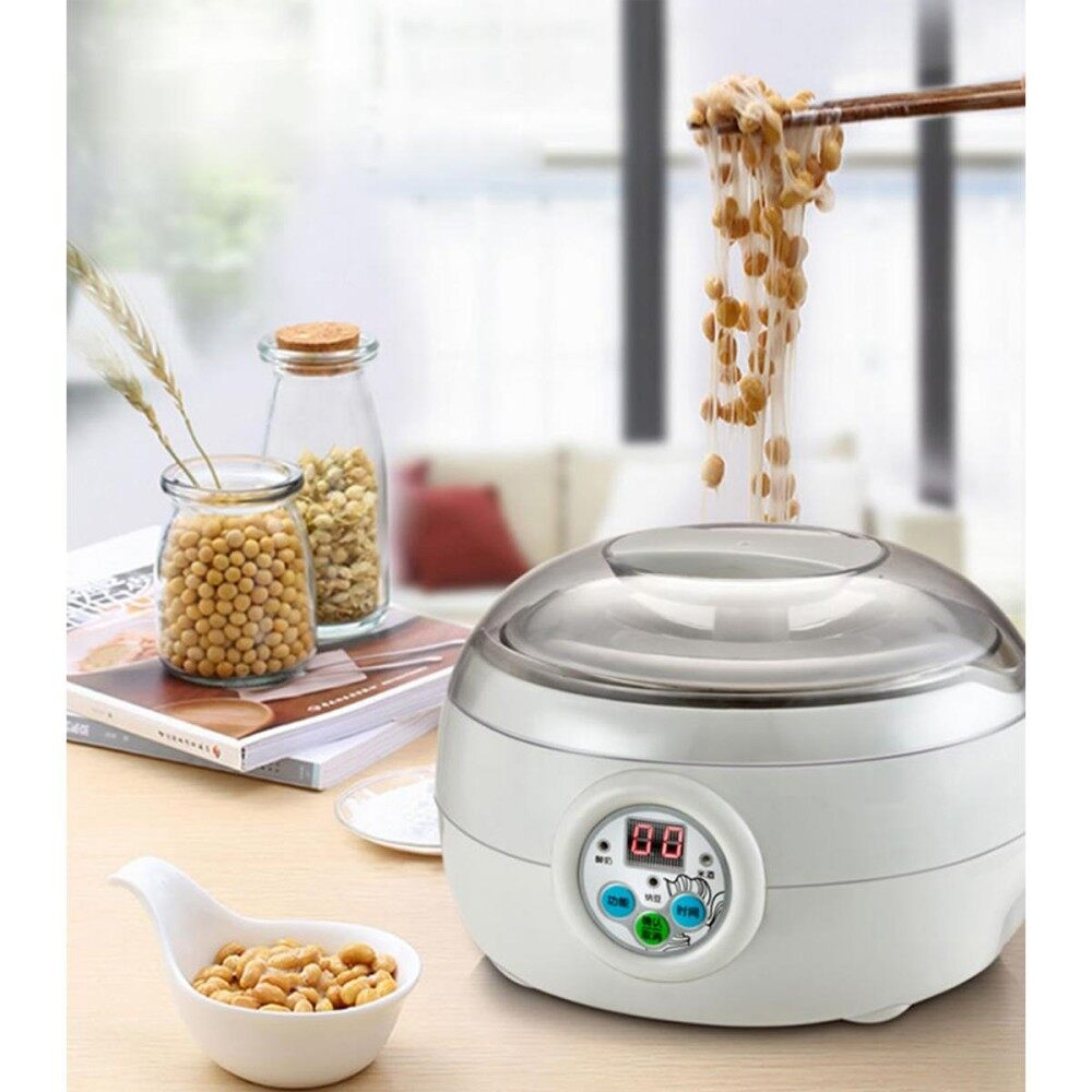 Electric Automatic Yogurt/natto/rice Wine Maker Machinecuisine Container 1.5l 15w By Moonbeam.