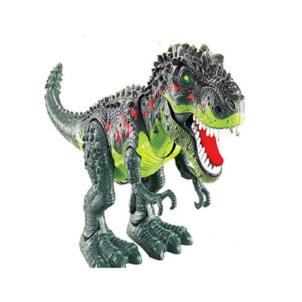Kids Toy Walking T-Rex Dinosaur Toy Figure With Lights & Sounds Real Movement By Matatatshop.