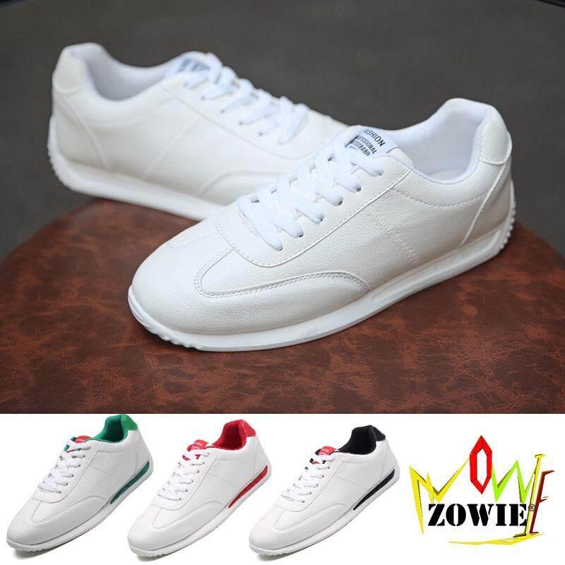 Zowie 2018 ชายกีฬารองเท้าแฟชั่นการฝึกอบรมรองเท้าวิ่งผ้าใบสำหรับชายนักเรียนรองเท้า Size36-44 By Zowie Shoes.