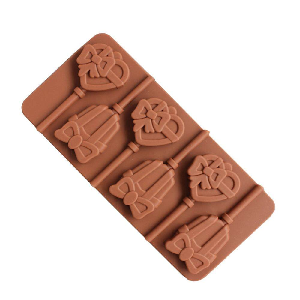 Lollipop Silicone Cake Decorating Ice Mould Candy Cookies Chocolate Baking Mold