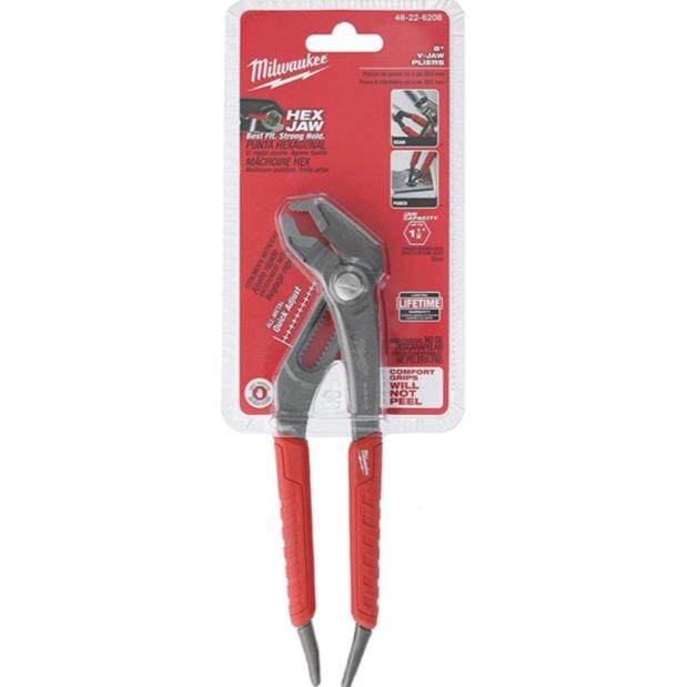 MILWAUKEE HEAVY DUTY HEX JAW PLIER (MADE IN USA)