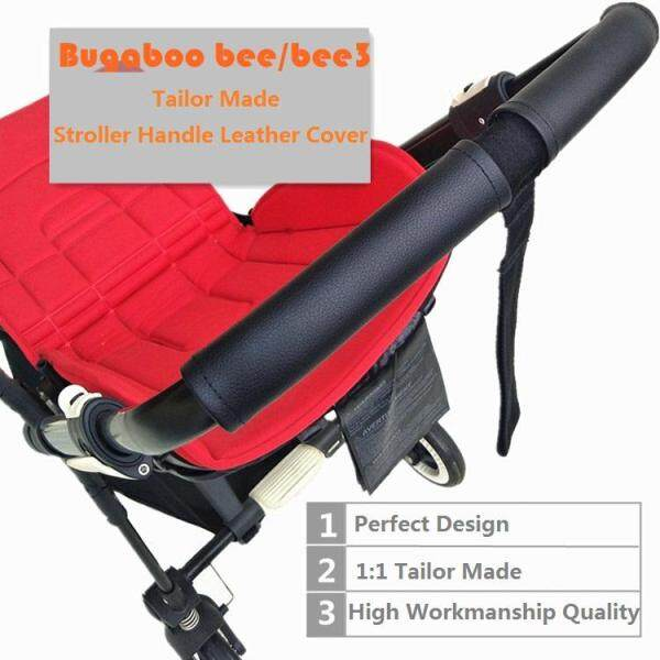 Stroller accessories 1:1 tailor made bugaboo Bee handle leather protective case cover fit Bugaboo Bee3 Bee5 Singapore