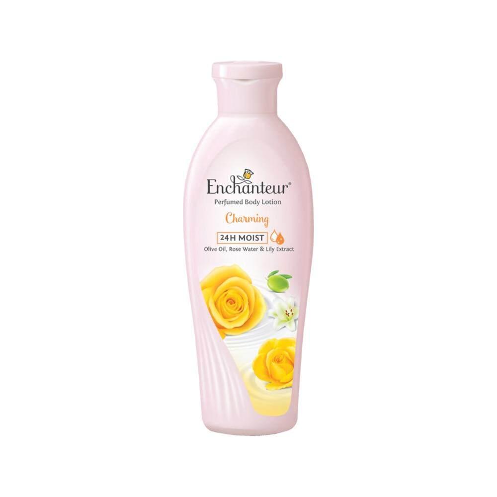 Features Enchanteur Charming Body Care Set 4 In 1 Dan Harga Terbaru Perfumed Talc Alluring 200a 24h Moist Lotion 220ml