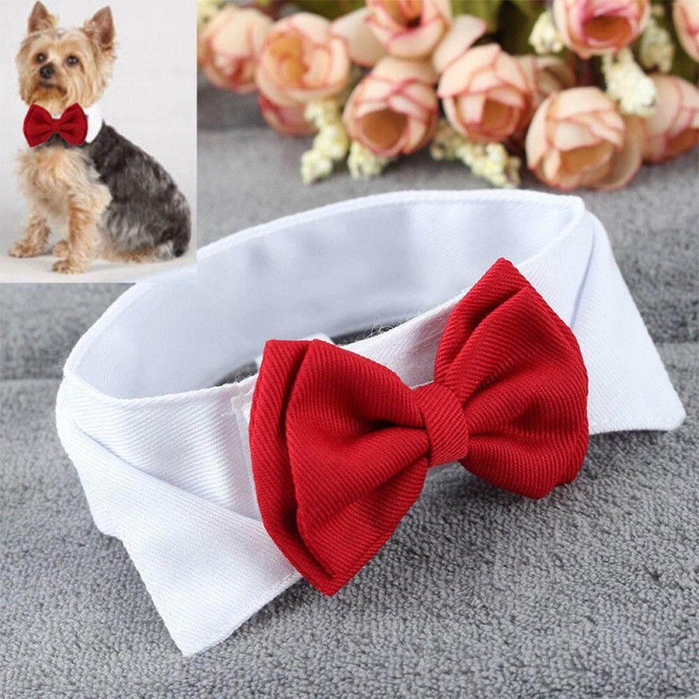 Bintang Fashion Dasi Kupu-Kupu Dapat Disesuaikan Lucu Dasi Collar Ikatan Simpul Untuk Anjing Peliharaan Kucing Dekorasi Pernikahan Stype: Merah By Star Mall.