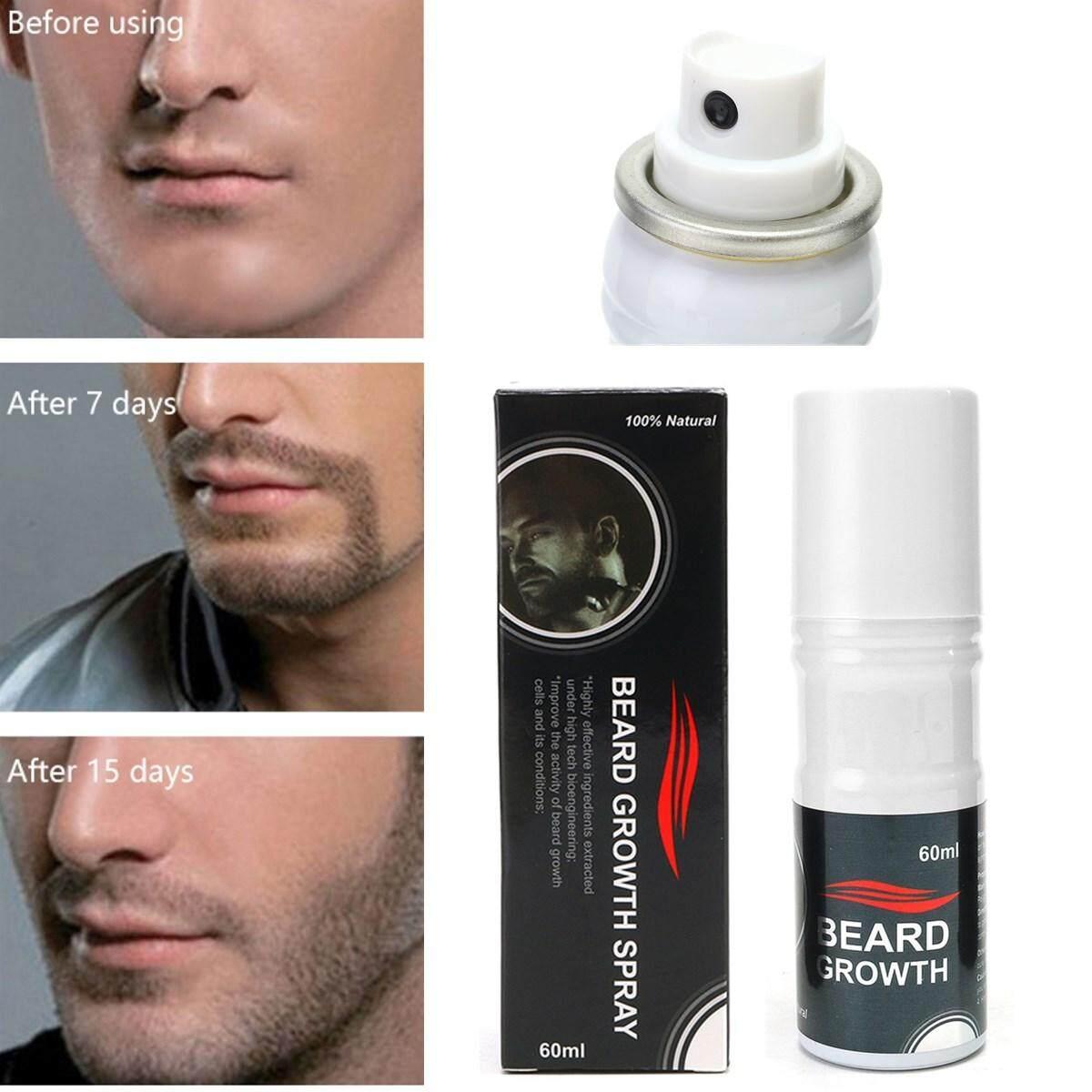 100% Pro Natural Beard Growth Spray Stimulator Grow Hair Grower Fast Beard boost nhập khẩu