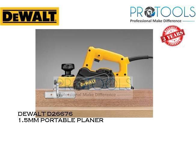 DEWALT D26676 1.5MM PORTABLE PLANER