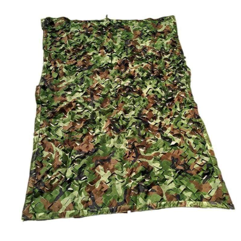 OrzBuy Woodland Camo Netting Camouflage Net For Camping Military Hunting Shooting Sunscreen Nets 1*1.5M/2*3M/3*4M/4*5M