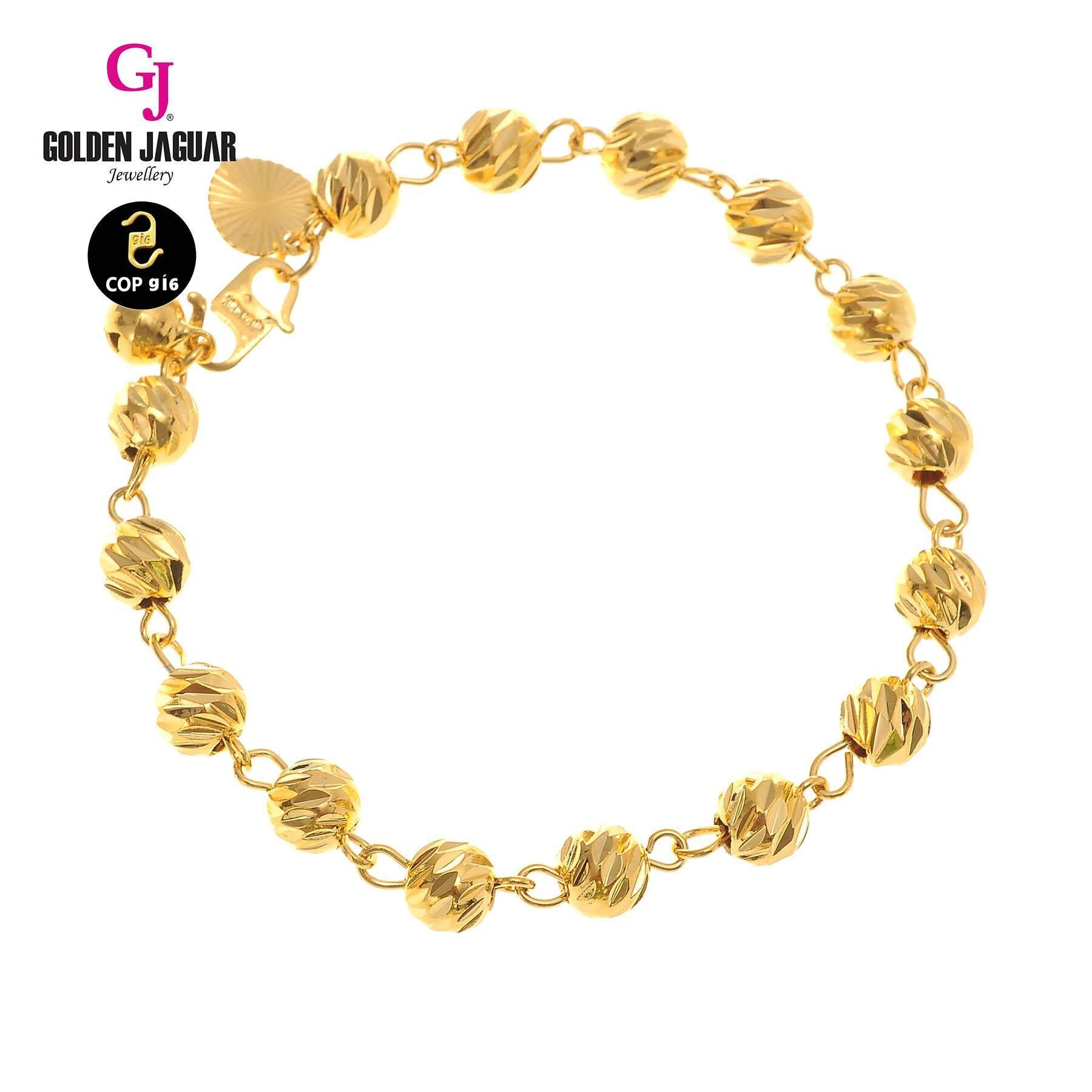 GJ Jewellery Emas Korea Bracelet - Bulan Sabit 9  4.0 (2260403)/Gold Plated