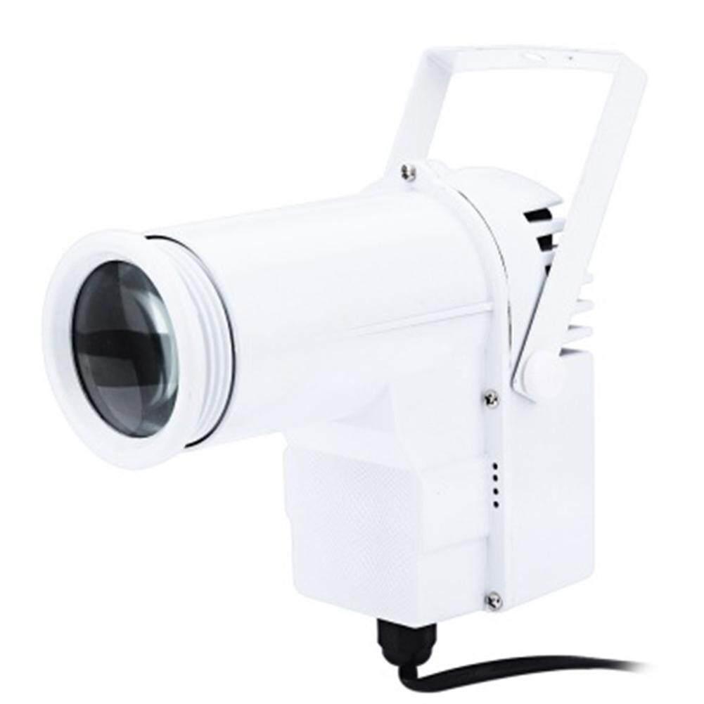 Qimiao 10W LED Spotlight Shooting Light RGBW DMX512 Beam Lamp Stage Light for Dance Floor Disco DJ KTV European Specification - intl