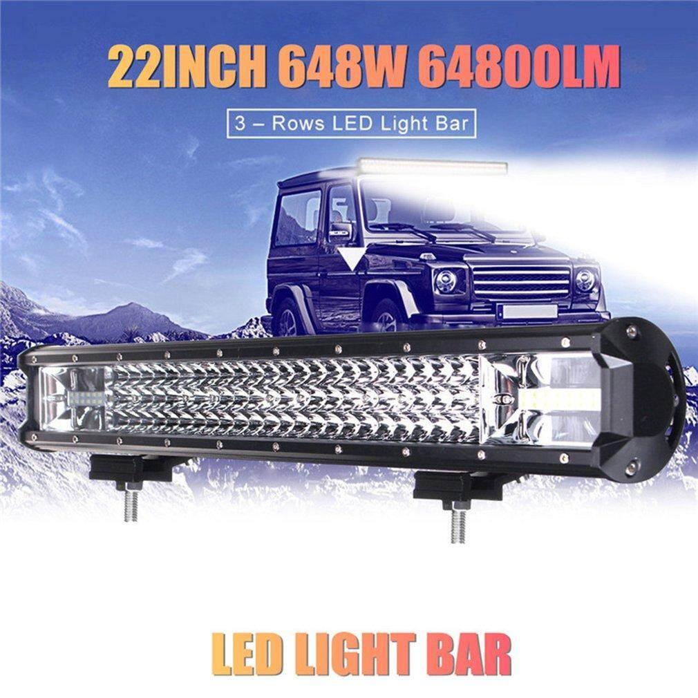 Gearray 22-Inch 648 W 64800LM LED Batang Lampu Kerja Lampu Banjir Truk Mobil Offroad Lampu Mengemudi
