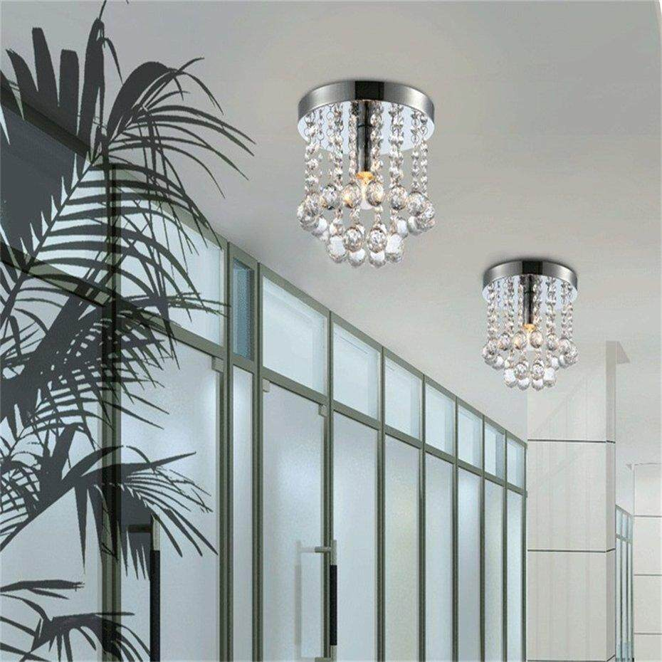 TOP Modern Style Crystal  Chrome Ceiling Pendant Light  Home Decor