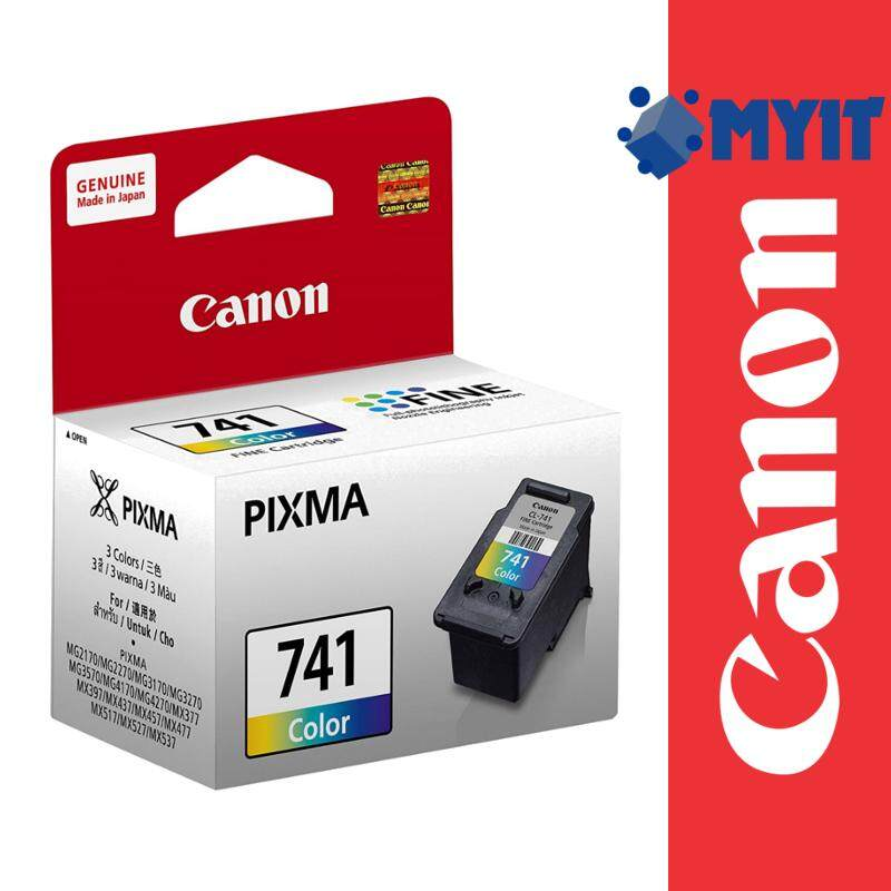 Canon Original CL-741 Color Ink Cartridge for MG2170 MG2270 MG3170 MG3270 MG3570 MG4170 MG4270 MX377 MX397 MX437 MX457 MX477 MX517 MX527 MX537 CL741