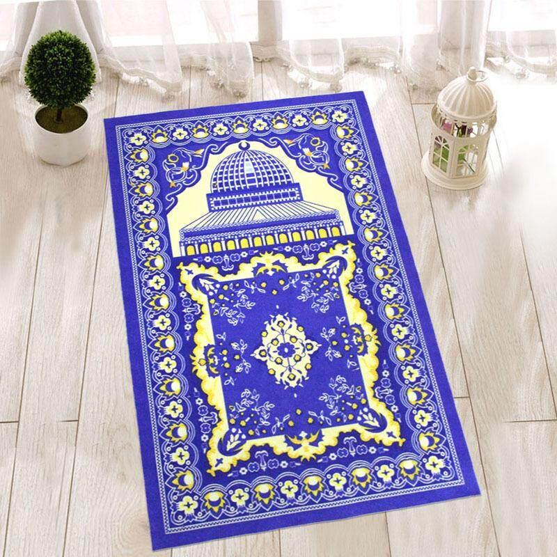 Fudun พรมพิมพ์ผ้าห่มมัสยิดมุสลิมการอธิษฐานการแสวงบุญของชาวมุสลิม - Intl By Fudun.
