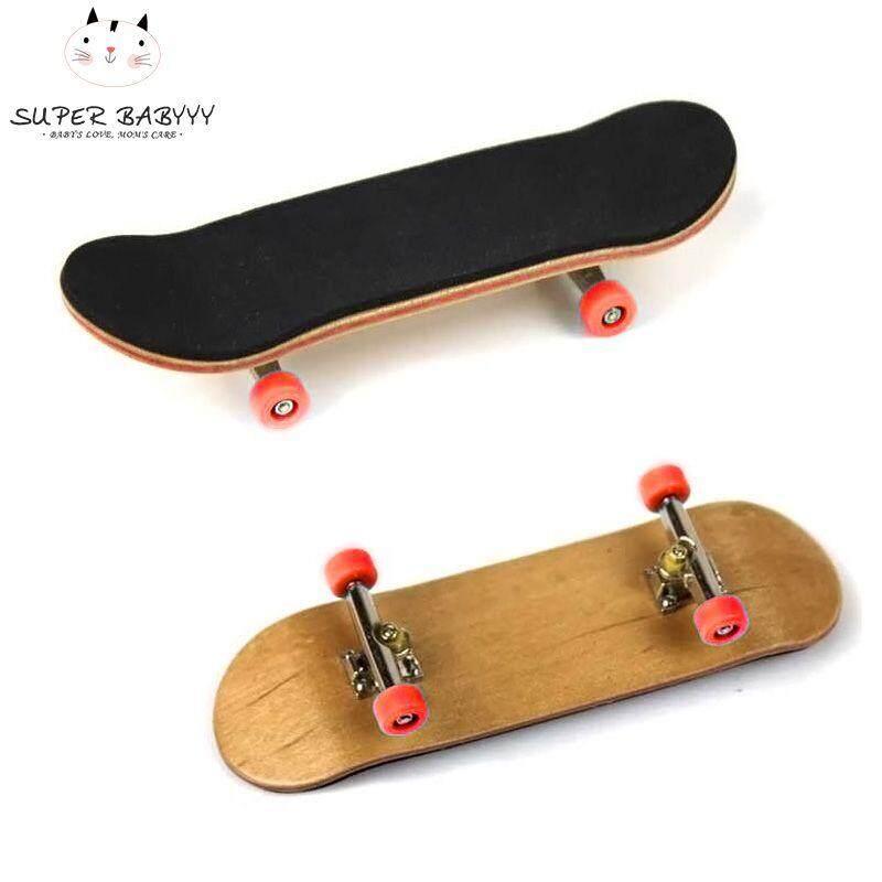 Sby Pu Maple Wood Cute Party Favor Kids Children Mini Finger Board Fingerboard Skate Boarding Toys By Super Babyyy