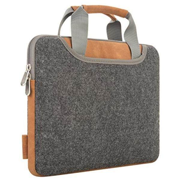 Laptop Sleeves Laptop Bag XIAO QIAO Hand Bag Carry Bag Tablet Bag Sleeve Case Cover with Handle for 15 - 15.6 Inch MacBook Air, MacBook Pro 2017/2016, iPad Pro, Dell HP, Asus, Acer, - intl
