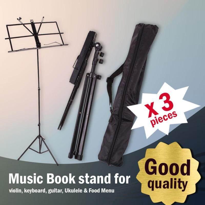 [3 in 1 value pack] Music Book Stand for Violin, Keyboard, Guitar, Ukulele & Food Menu Malaysia