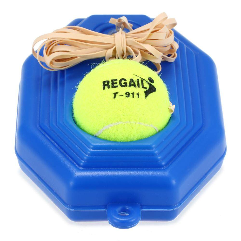 Tennis Trainer Practice Training Tool Baseboard Exercise Rebound Ball With String - Intl By Victory Team.